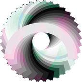 Abstrakten geometrischen entwurf. vektor-hintergrund — Stockvektor