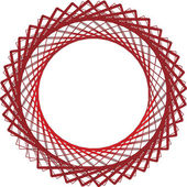 Abstracte geometrische ontwerp. vector achtergrond — Stockvector