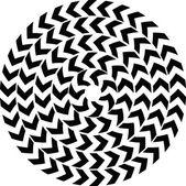 Diseño geométrico abstracto. vector fondo — Vector de stock