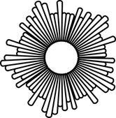 抽象的な幾何学的設計。ベクトルの背景 — ストックベクタ