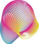 Abstrakten hintergrund. vektor-illustration — Stockvektor