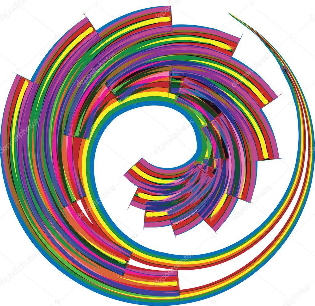 抽象的几何设计.矢量背景