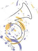 Music Instrument. Vector illustration — Stock Vector