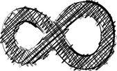 Hand draw font. Vector illustration — Stock Vector
