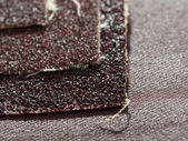 Sheets of sandpaper — Stock Photo