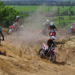 Russian Championship motocross motorcycles and ATVs — Photo
