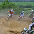Russian Championship of Motocross among motorcycles and ATVs — Stock fotografie