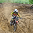 Russian Championship motocross motorcycles and ATVs — Stok fotoğraf