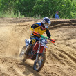 Russian Championship motocross motorcycles and ATVs — 图库照片