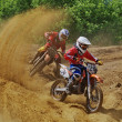 Russian Championship motocross motorcycles and ATVs — Zdjęcie stockowe