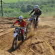 Russian Championship of Motocross among motorcycles and ATVs — ストック写真