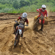 Russian Championship of Motocross among motorcycles and ATVs — Foto de Stock