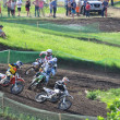 Russian Championship of Motocross among motorcycles and ATVs — Stok fotoğraf