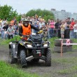 Russian championship trophy raid among  ATVs and motorcycles — Foto Stock