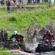 Russian championship trophy raid among  ATVs and motorcycles — Foto de Stock