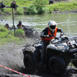 Stock Photo: Russichampionship trophy raid among ATVs and motorcycles