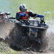 Russian championship trophy raid among  ATVs and motorcycles - Foto Stock
