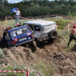 Russian championship trophy raid among  ATVs and motorcycles - ストック写真