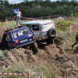 Russian Championship of Motocross among motorcycles and ATVs - ストック写真
