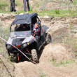 Russian championship trophy raid among SUVs, ATVs and motorcycles. — 图库照片