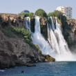 Waterfall on the Turkish coast — Stock Photo