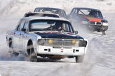 Car racing. Championship in Russia. — Stock Photo