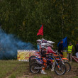 Russian Championship of Motocross among motorcycles and ATVs — Stock Photo #31639185