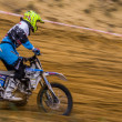 Russian Championship of Motocross among motorcycles and ATVs — Stock Photo #31639593