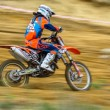 Russian Championship of Motocross among motorcycles and ATVs — Stock Photo #31640601