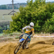 Russian Championship of Motocross among motorcycles and ATVs — Stock Photo #31641161