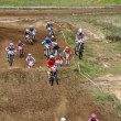 Russian Championship of Motocross among motorcycles and ATVs — Lizenzfreies Foto