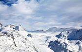 Góra zima śnieg — Zdjęcie stockowe