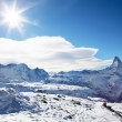 Winter landscape in Switzerland — Stock Photo #12285790