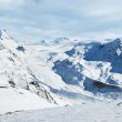 Zermatt snow landscape — Stock Photo