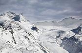 Pendiente en pico matterhorn en Suiza — Foto de Stock