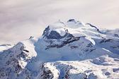 Snow of Switzerland — Stock Photo
