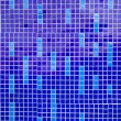 Blue mosaic pattern — Stock Photo