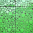 Green defferent shape mosaic tiles — Stock Photo
