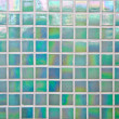 Stock Photo: Nacreous green mosaic tile