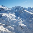 Swiss winter landscape — Stock Photo