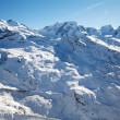 Swiss winter landscape — Stock Photo