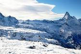 Sommet du cervin à zermatt en suisse — Photo