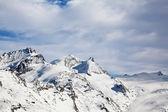 Paysage d'hiver magnifique en suisse à zermatt — Photo