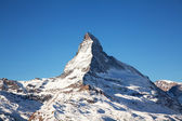 Mountain Matterhorn in Switzerland — Stock Photo