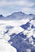 Paisagem de neve do inverno — Foto Stock