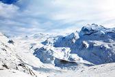 Зимний пейзаж снега — Стоковое фото