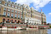 Amstel hotel in Amsterdam — Stock Photo