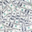 American hundred usd banknotes background close up — Stock Photo