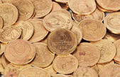 Old  dirty USSR coins closeup — Stock Photo