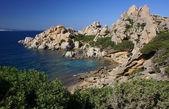 Sardinian coastline — Stock Photo